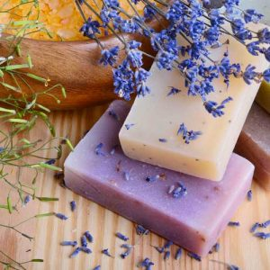 goat milk lavender soap