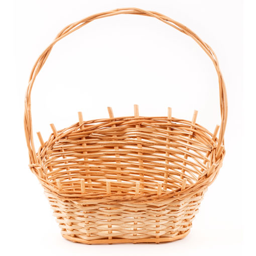 spa basket for goat milk products